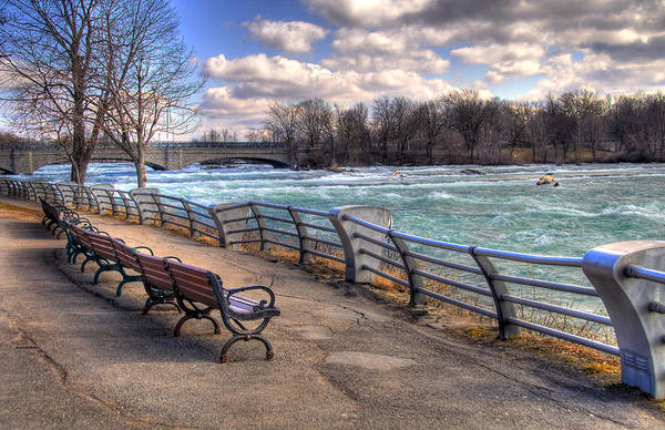 Wall Art - Photograph - Niagara Rapids In Early Spring by Tammy Wetzel