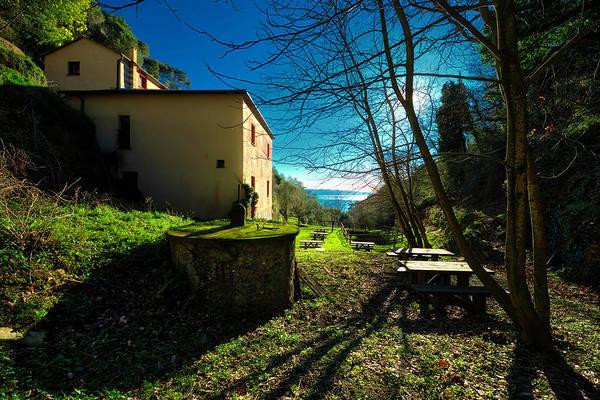 Photograph - Niasca Hermitage I Portofino Park Passeggiate A Levante by Enrico Pelos