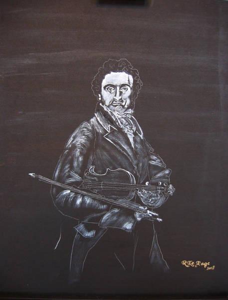 Painting - Niccolo Paganini by Richard Le Page
