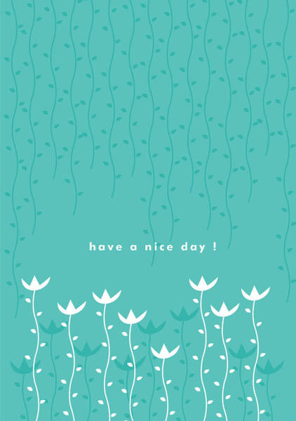 Have Painting - Nice Day by Kathleen Wong