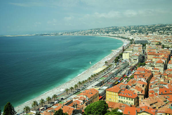 Photograph - Nice, France by Allen Sheffield