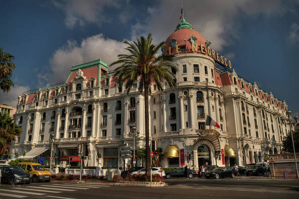 Photograph - Nice - Hotel Negresco 001 by Lance Vaughn