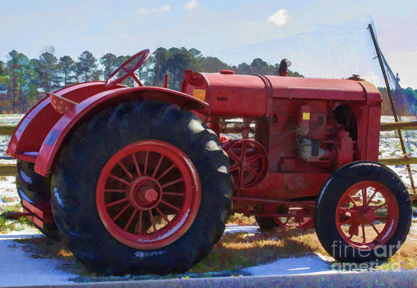 Photograph - Nice Ride Tractor by Roberta Byram