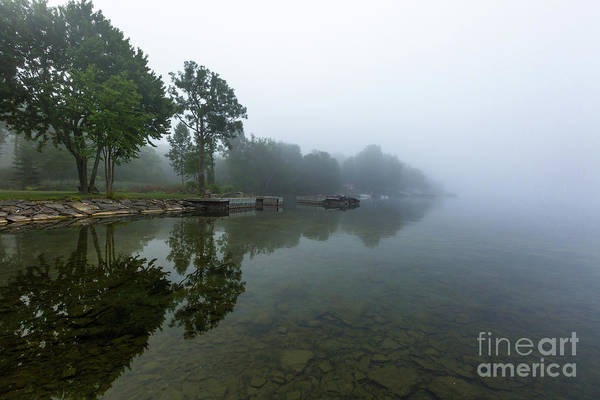 Photograph - Nicholson's Point In Fog by Roger Monahan