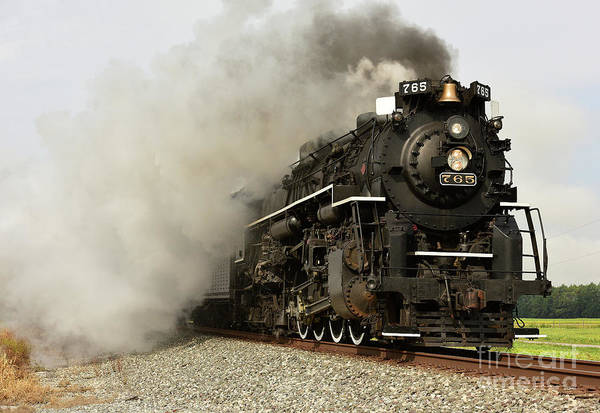 Photograph - Nickel Plate 765 by Charles Owens