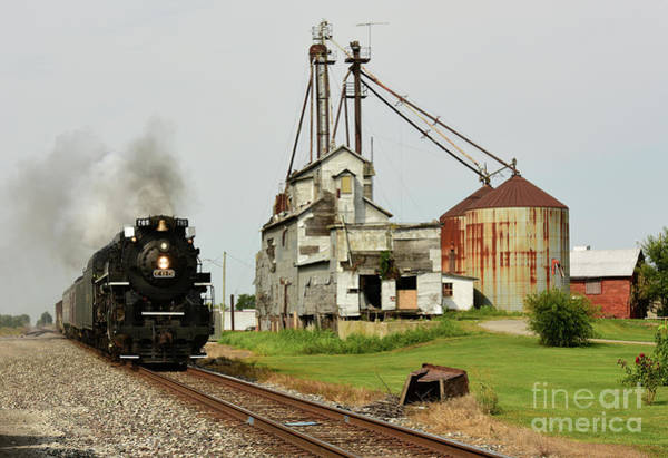 Photograph - Nickel Plate 765 Leipsic, Ohio by Charles Owens