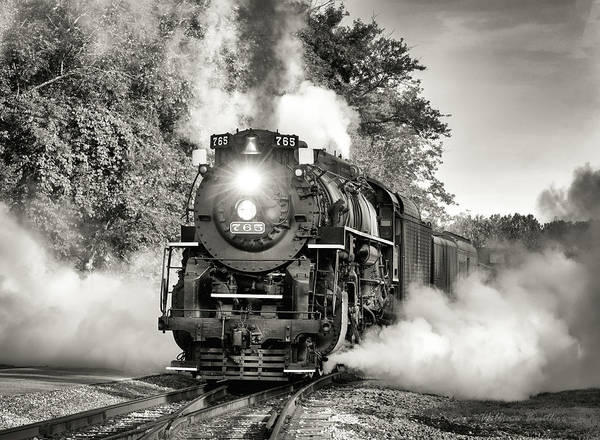 Photograph - Nickel Plate 765 by William Beuther