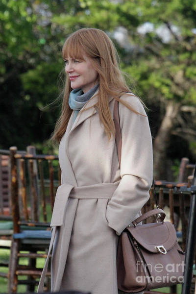 Photograph - Nicole Kidman As Celeste Wright On Site Of Big Little Lies by California Views Archives Mr Pat Hathaway Archives