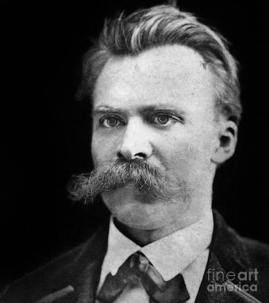 Intelligent Photograph - Nietzsche by German School