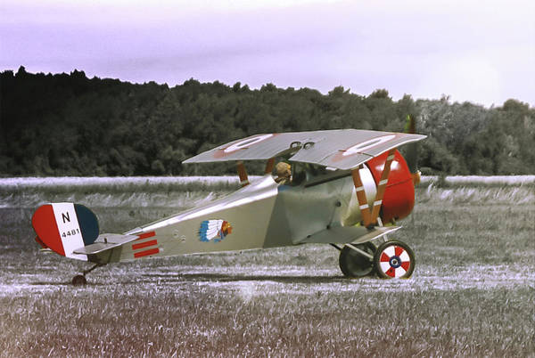 Photograph - Nieuport 17 by Guy Whiteley