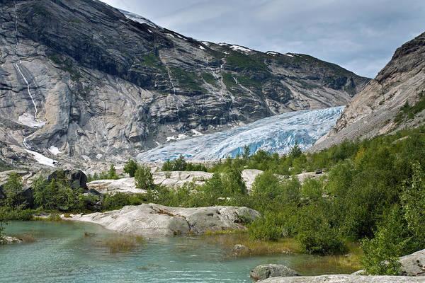 Photograph - Nigardsbreen Glacier by Aivar Mikko