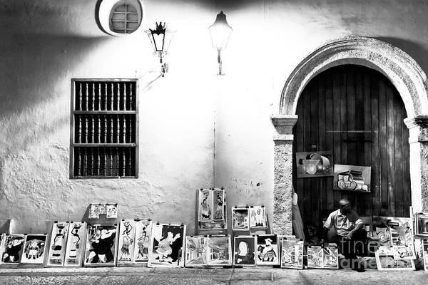 Photograph - Night Art In Cartagena by John Rizzuto