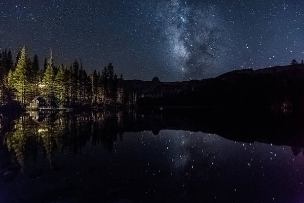 Photograph - Night At Lake Mamie by Shuwen Wu