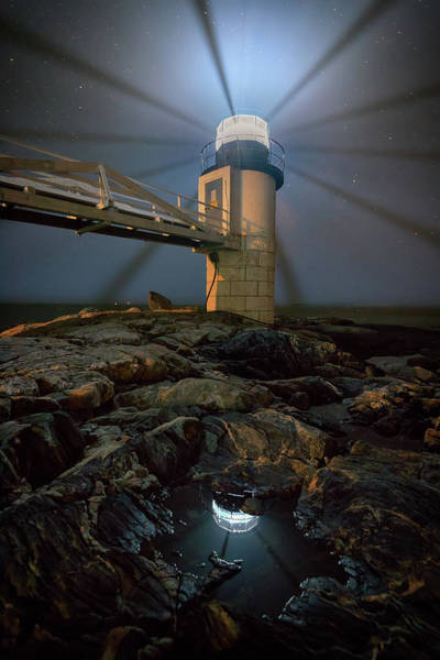 Keeper Photograph - Night At Marshall Point by Rick Berk