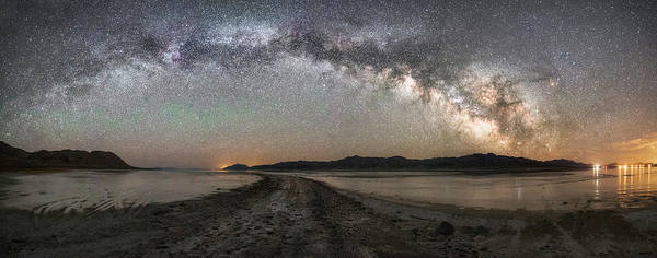 Photograph - Night In The Black Rock Desert by Tony Fuentes