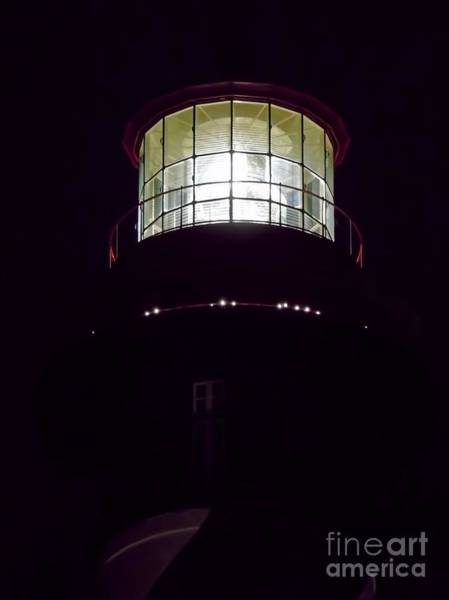 Photograph - Night At The Lighthouse by D Hackett