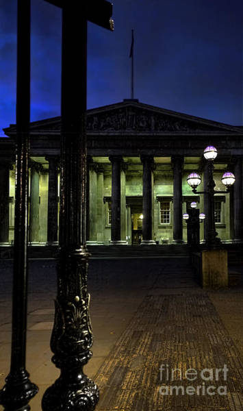 After Dark Photograph - Night At The Museum by Jasna Buncic