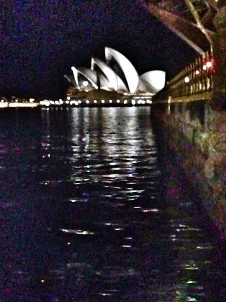 Harbor Scene Digital Art - Night At The Opera by Susan Dietz
