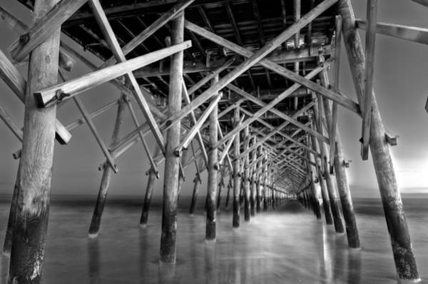 Wall Art - Photograph - Night At The Pier  by Drew Castelhano