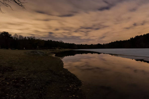 Photograph - Night At The Pond by Brian MacLean