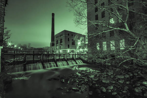Photograph - Night At The River 3 by Brian MacLean