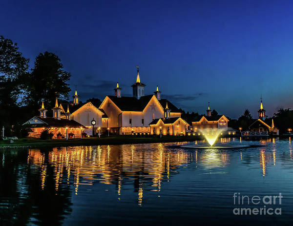 Photograph - Night At The Star Barn by Nick Zelinsky