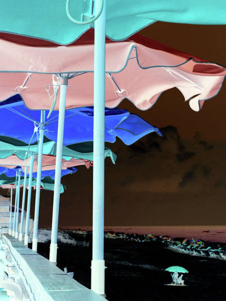 Digital Art - Night Beach by James Granberry