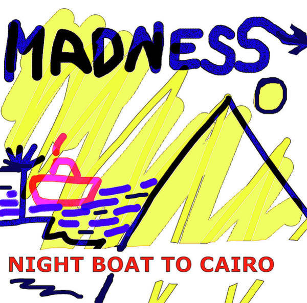 Sex Pistols Drawing - Night Boat To Cairo 1979 by Enki Art