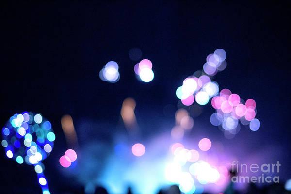 Wall Art - Photograph - Night Bokeh Lights by Juli Scalzi