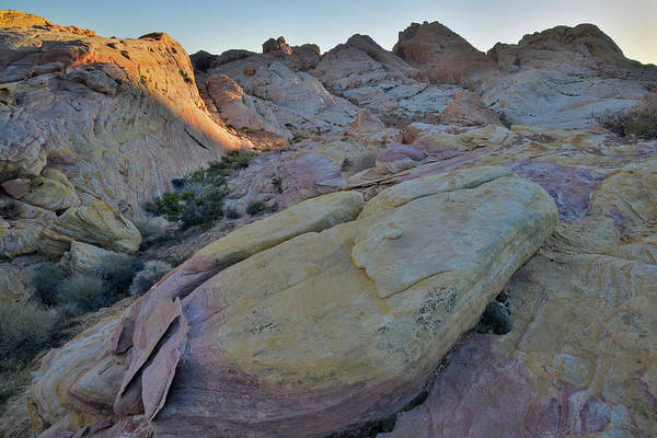 Photograph - Night Comes To Valley Of Fire by Ray Mathis
