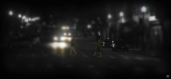Photograph - Night Crossing by John Meader
