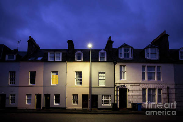 St Andrews Photograph - Night Darkens The Street by Evelina Kremsdorf