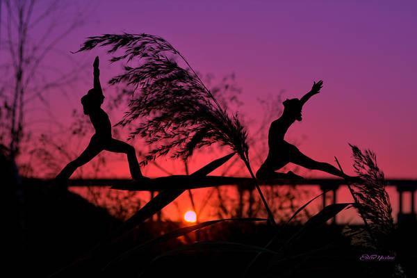 Photograph - Night Exercise by Ericamaxine Price