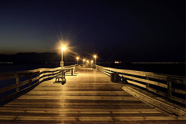 Photograph - Night Fishin' by Pete Federico