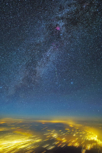 Photograph - Night Flight by Ralf Rohner