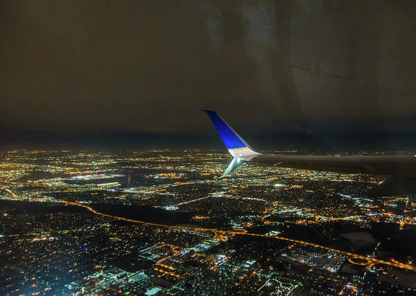 Photograph - Night Flight by Robert Potts