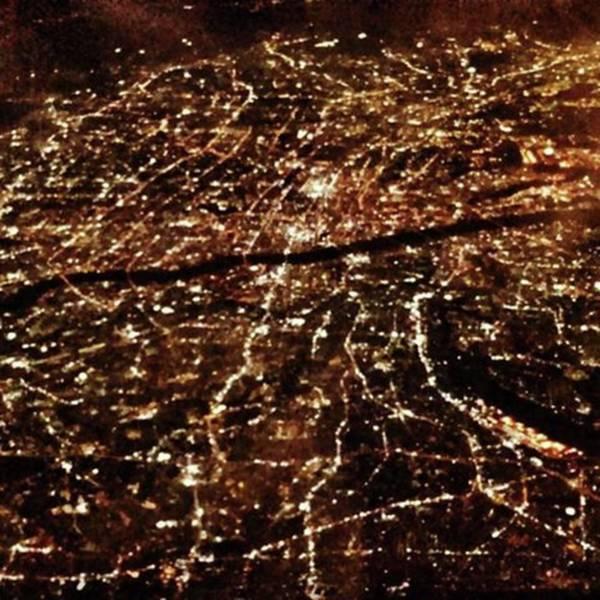 Strong Wall Art - Photograph - Night Flight Tokyo To Iwakuni by Nori Strong