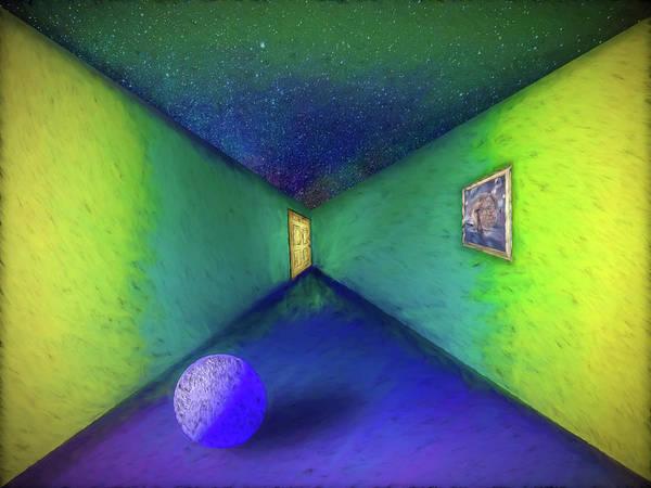 Digital Art - Night Gallery by Paul Wear