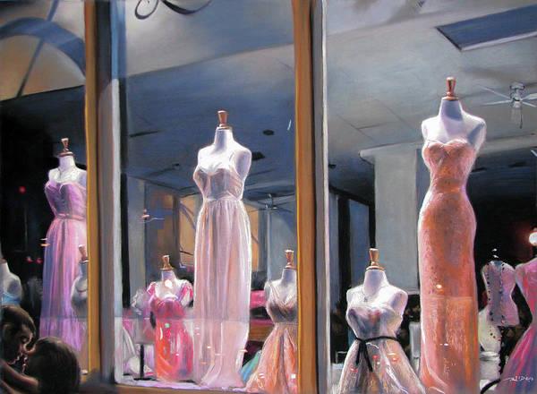 Night, Gowns Art Print