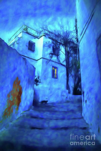 Tunisia Digital Art - Night In The Cite by Rick Bragan