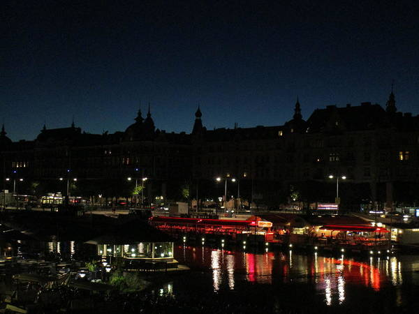 Photograph - Night In The City by Rosita Larsson