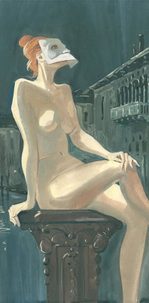 Painting - Night In Venice 2 by Igor Sakurov