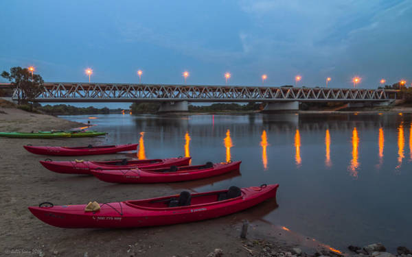 Photograph - Night Kayax by Julis Simo