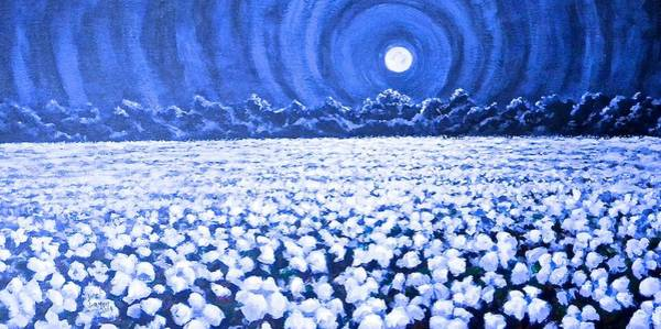 Painting - Night Light by Jeanette Jarmon