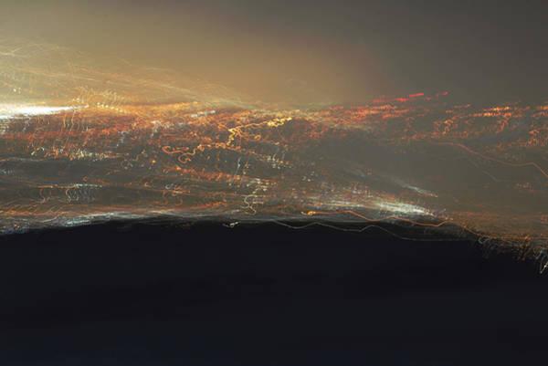 Photograph - Night Lights Abstract by Kae Cheatham