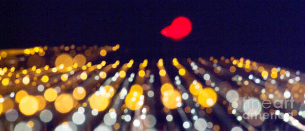 Photograph - Night Lights During A Party by Odon Czintos
