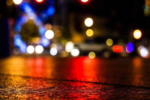 Photograph - Night Lights by Mike Dunn