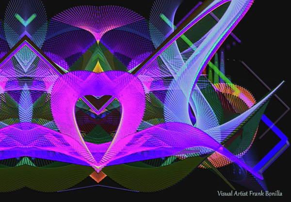 Digital Art - Night Lights by Visual Artist Frank Bonilla