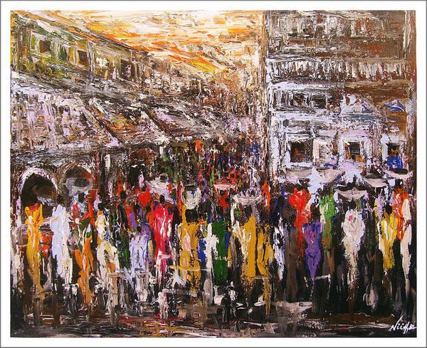 Night Market Art Print