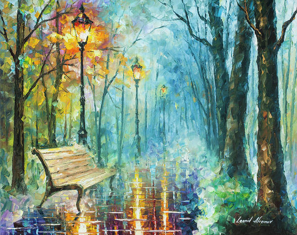 Wall Art - Painting - Night Of Inspiration by Leonid Afremov